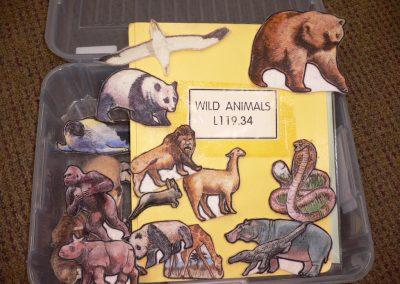 CCR000264 Wild Animals Flannel