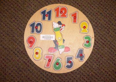 CCR000265 Clock Puzzle