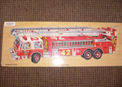 CCR000276 Fire Engine Puzzle