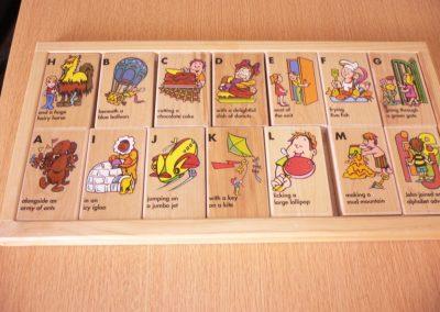CCR000294 Alphabet puzzle
