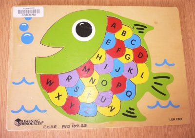 CCR000298 ABC Fish Puzz