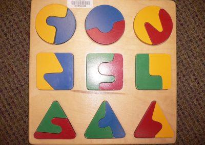 CCR000306 Geometric Puzzle