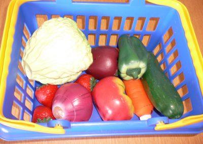 CCR000394 Fruit Veg basket