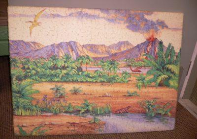CCR000395 Dinosaur Felt Board