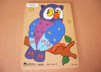 CCR000426 Owl Puzzle