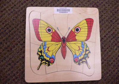 CCR000514 Butterfly cycle puzzle