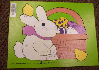 CCR001027 Easter Rabbit Puzzle