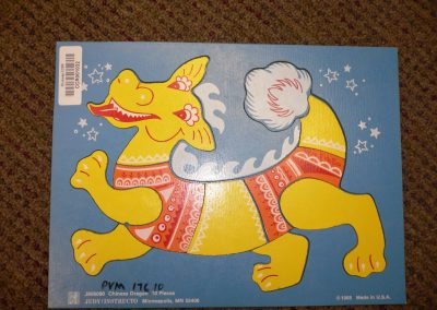 CCR001032 Chinese Dragon Puzzle