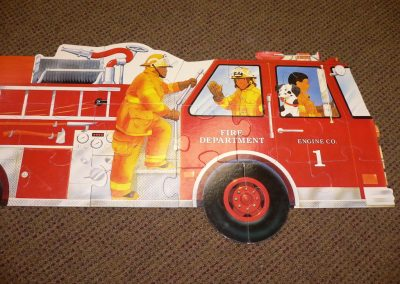CCR001228 Fire Engine Puzzle