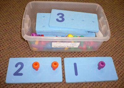CCR001229 Peg Number Boards