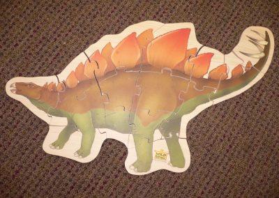 CCR001233 Stegasaurus Puzzle
