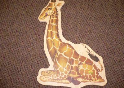 CCR001280 Giraffe Puzzle