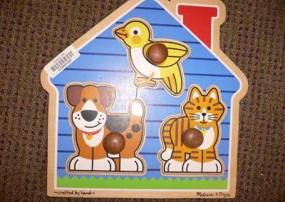 CCR001307 House Pets Puzzle