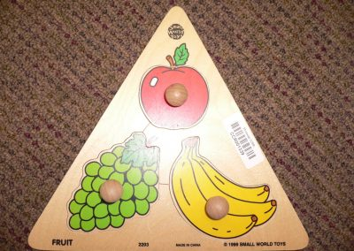 CCR001339 Fruit Puzzle