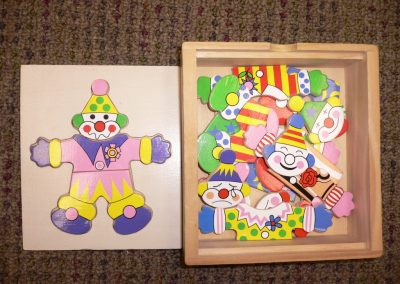 CCR001340 Clown Box Puzzle