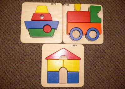 CCR001380 Wooden Shaped Puzzles
