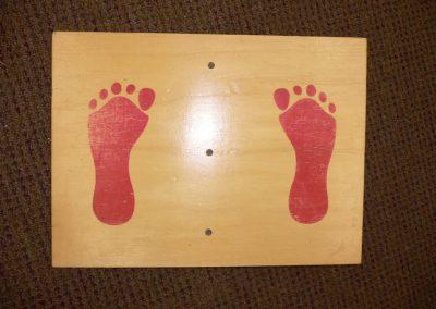 CCR001447 Balance Board Red