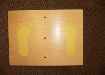 CCR001448 Balance Board Yellow