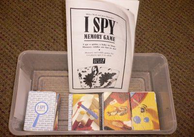 CCR001455 I SPY Memory Game