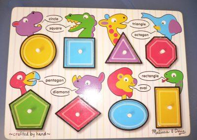 CCR001467 Shape Puzzle