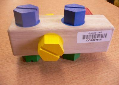 CCR001608 Wooden Block