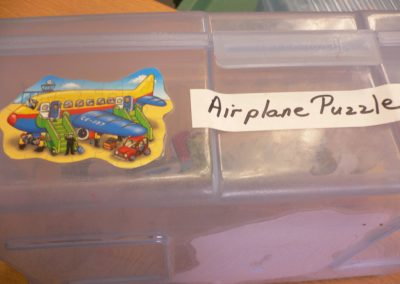 CCR001615 Airplane puzzle