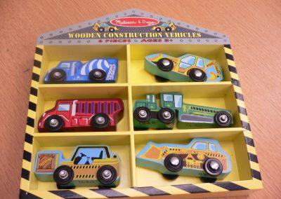 CCR001620 Wooden Trucks