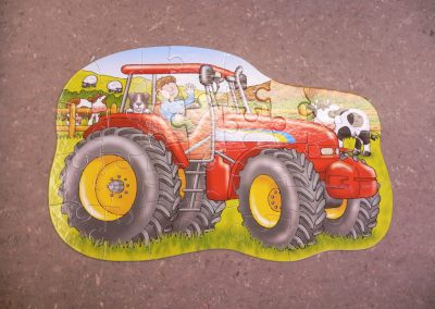 CCR001635 Tractor Puzzle