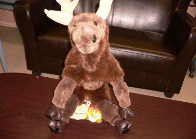 CCR001667 Moose Puppet