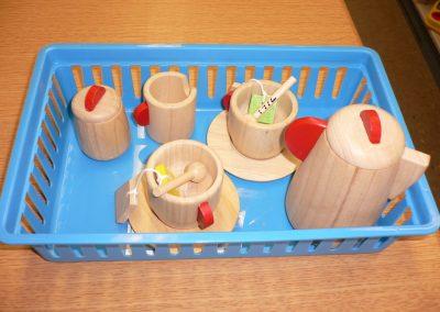 CCR001716 Wooden Tea Set