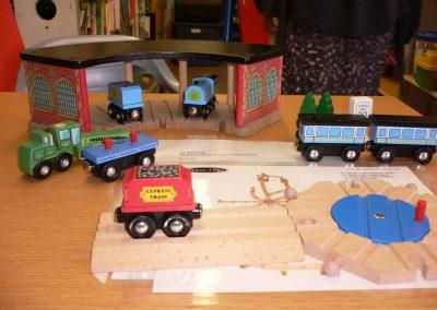 CCR001744 Wooden Railway