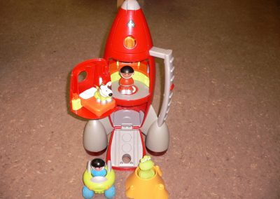 CCR001750 ELC Rocket Ship
