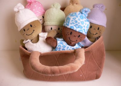 CCR001796 Basket of Babies