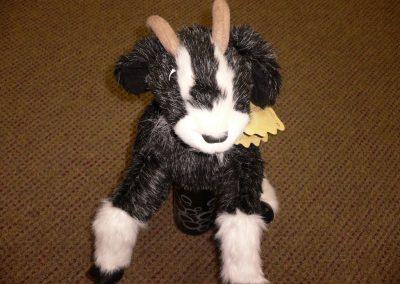 CCR001868 Goat Puppet