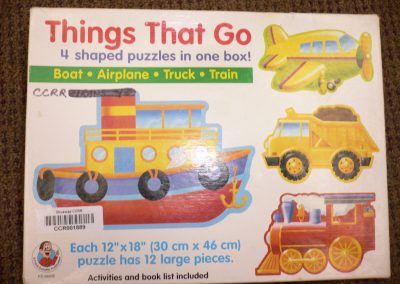 CCR001889 Things that go puzzle