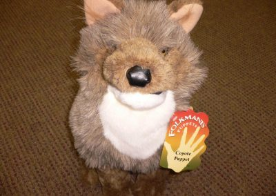 CCR001890 Coyote Puppet