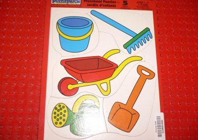 CCR001950 Preschool Garden Puzzle