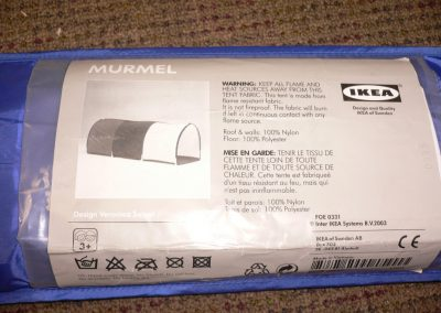 CCR001960 Ikea Tunnel Murmel