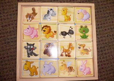 CCR001972 Wooden Matching Game