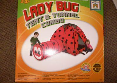 SCA003642 Ladybug Tent & Tunnel