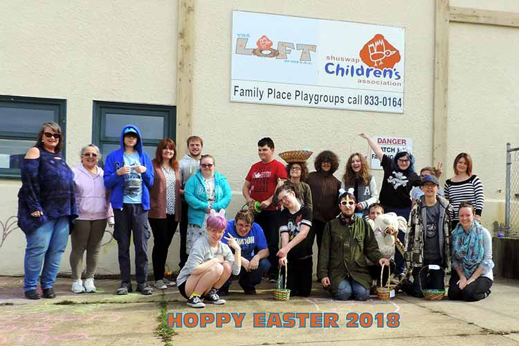 Spring Break Loft Program group photo