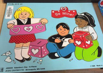 CCR001030 Valentine puzzel