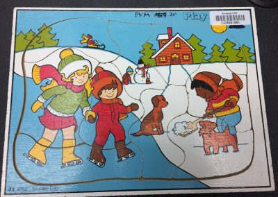 CCR001581 Winter puzzle