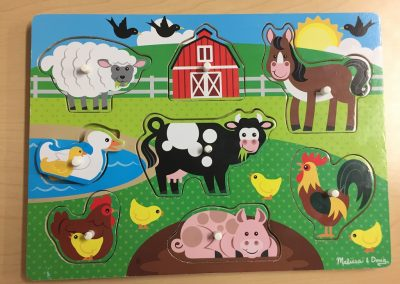 CCR002255 Farm animal puzzle