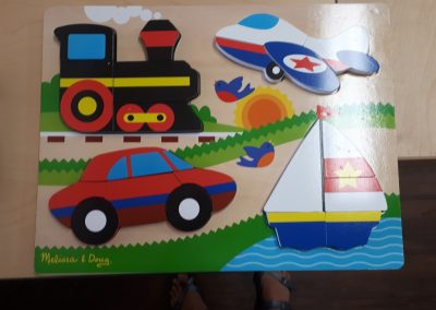 CCR002279 Chunky Transportation Puzzle