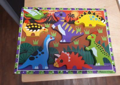 CCR002280 Chunky Dinosaur Puzzle