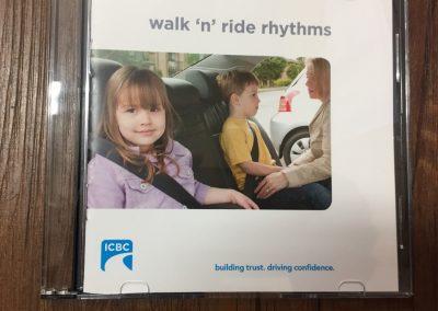 CCR002284 Walk n ride rhythms CD
