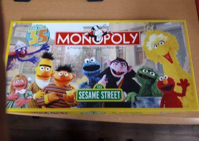 CCR002359 Sesame Street Monopoly