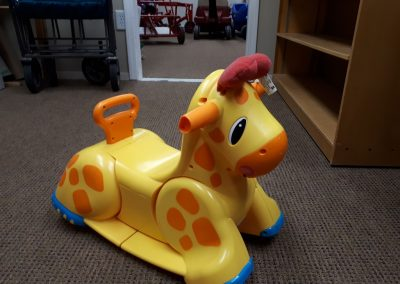 CCR002539 Baby Giraffe Rocker