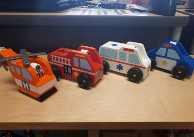 CCR002581 Emergency Vehicle Set